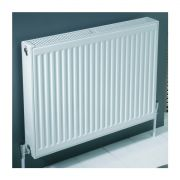 600mm High Double Panel Single Convector Compact Radiator