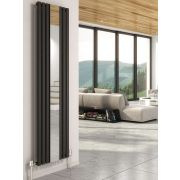 Cove Vertical Single Panel Radiator with Mirror